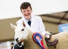 Sheep Young Handler Champion 2017